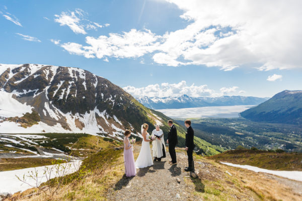 Alaska Destination Wedding at Alyeska Resort, Rainforest, and Oceanside - Jess & Jeff