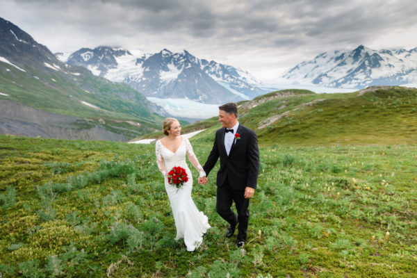 Alaska Destination Wedding at the Glacier, Rainforest, and Oceanside - Emily & Garry