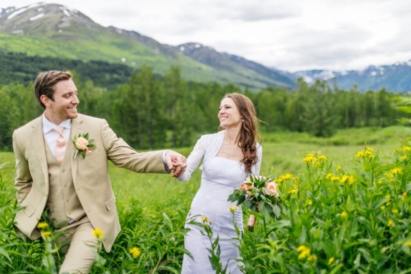 Alaska Destination Wedding at Kenai Lake and Alyeska Resort - Margot & Steven