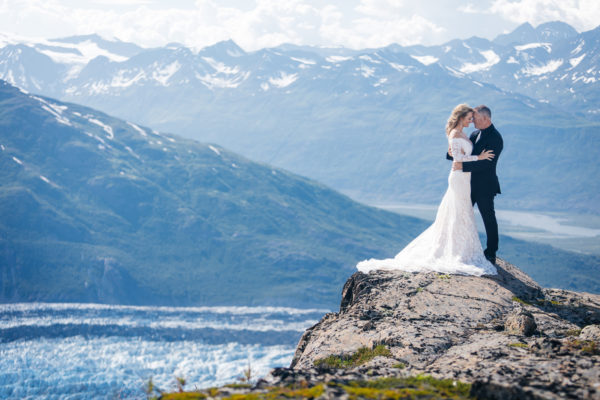 Alaska Destination Wedding at the Glacier, Rainforest, and Oceanside - Amber & Mark