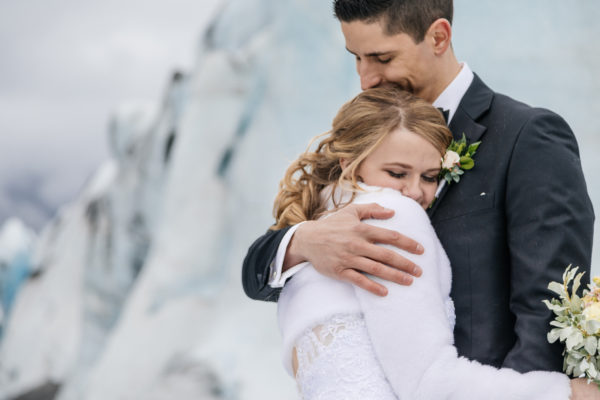 Alaska Destination Wedding at the Glacier, Rainforest, and Oceanside - Regina & Yuriy