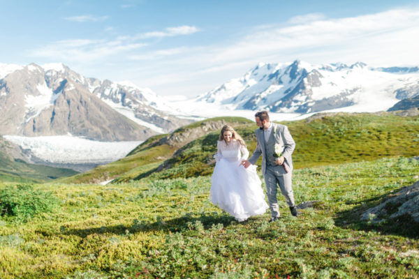 Alaska Destination Wedding at the Glacier, Rainforest, and Oceanside - Miranda & Zach