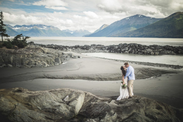 Alaska Destination Wedding: Ngaire & Glenn at the Rainforest and Oceanside