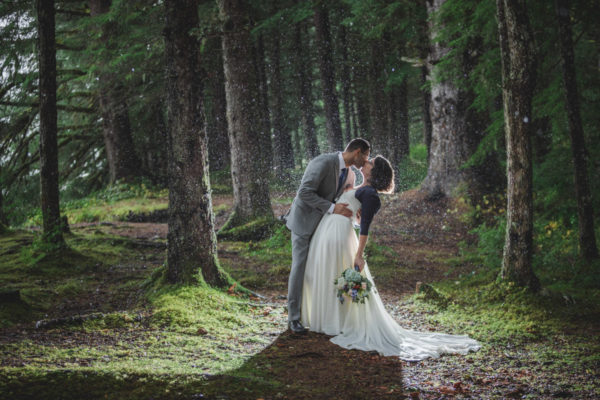 Alaska Destination Wedding: Jill & Ahmad in at the Glacier and Around Juneau