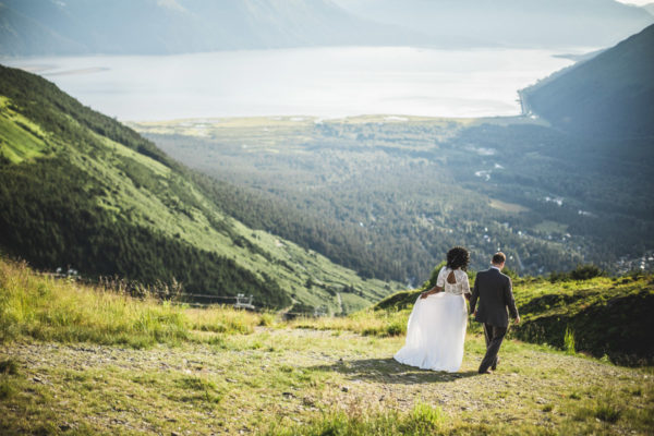 Alaska Destination Wedding: Crystal & Dustin at Alyeska Resort